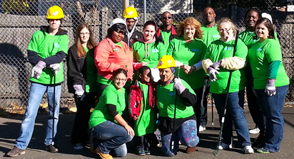 """Green Day Cleanup"" in the City of Stamford."